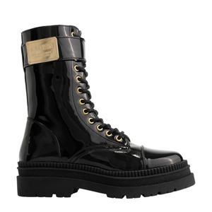 Amee Boots  veterboots zwart