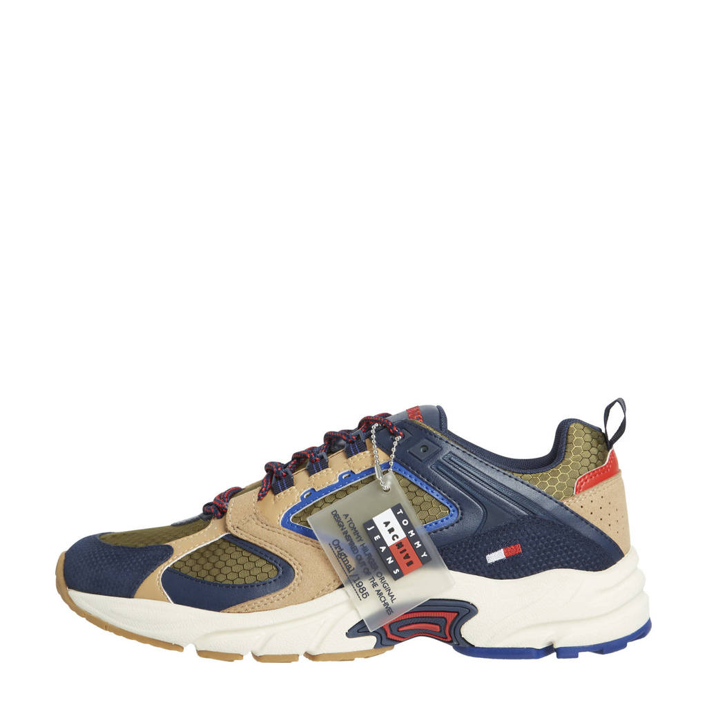Tommy Jeans Archive Run  chunky sneakers blauw/multi, Blauw/multi