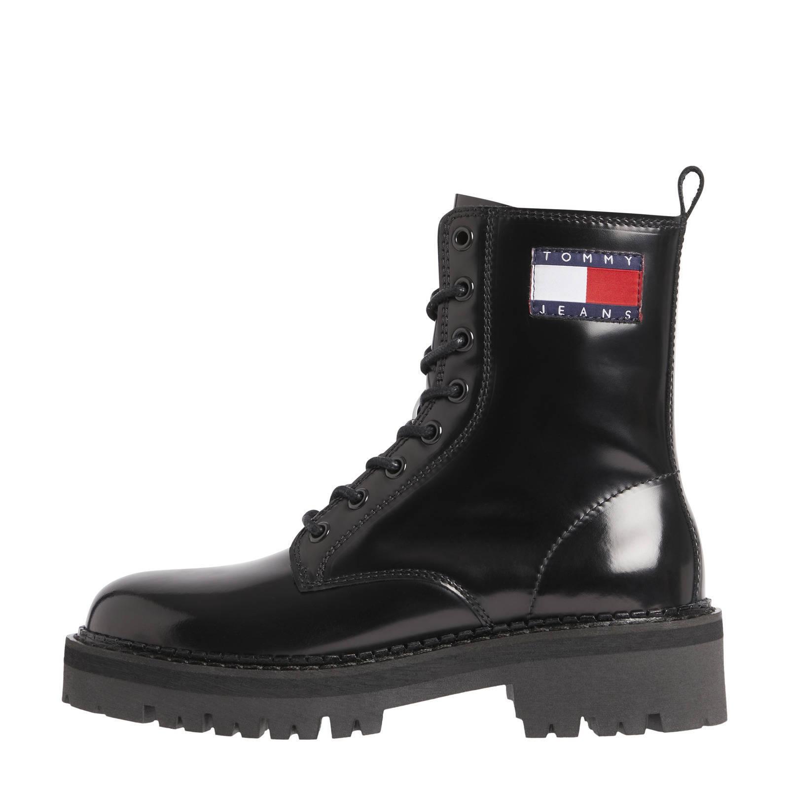 Tommy Hilfiger Laarzen Urban Tommy Jeans La Zwart online kopen