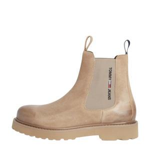 Bran  suède chelsea boots beige