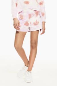 Garcia tie-dyesweatshort lila/roze, Lila/roze