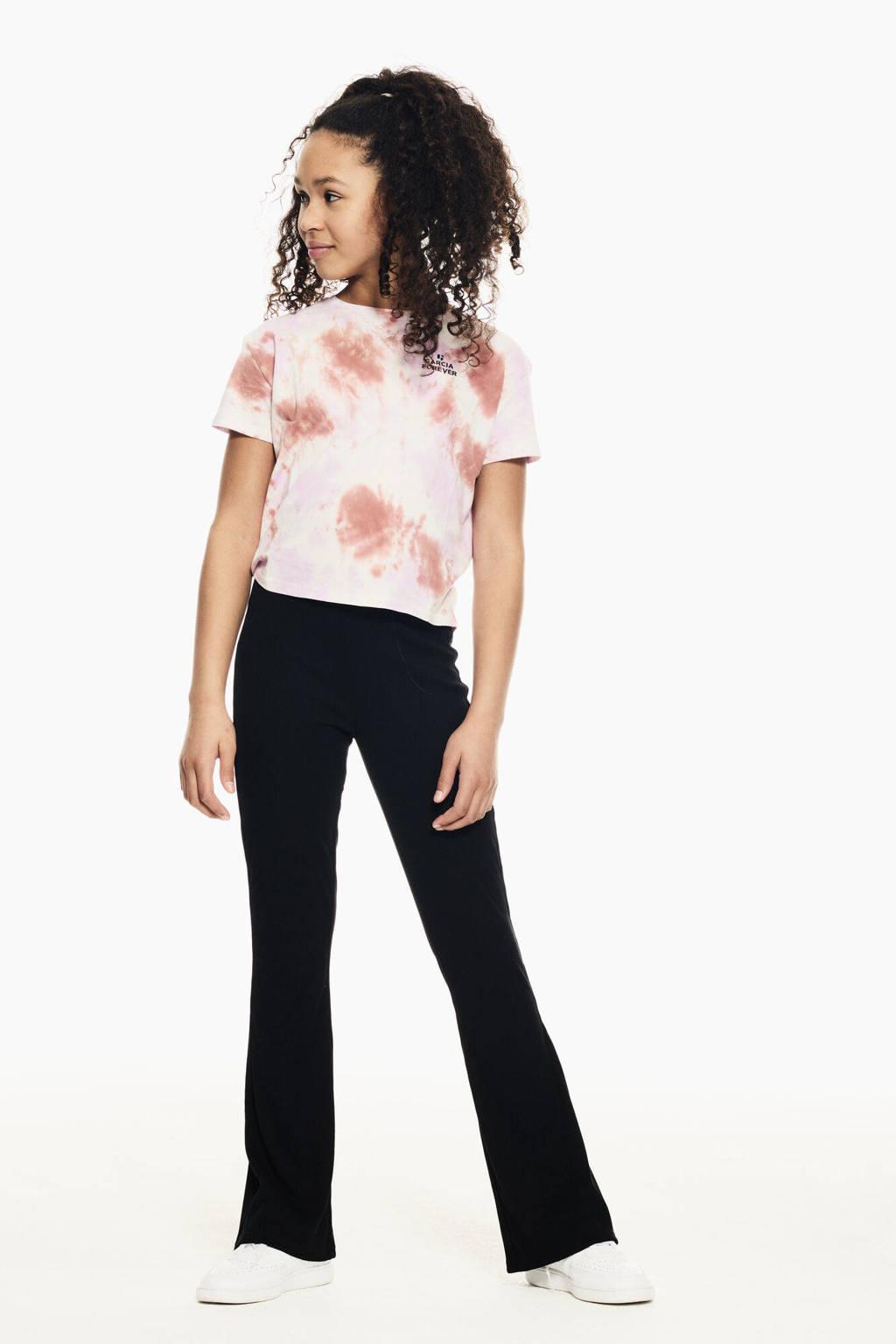 Garcia tie-dye T-shirt lila/roze, Lila/roze
