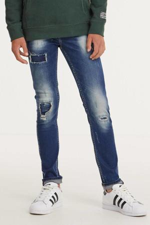 skinny jeans Tokyo Crafted dark blue stone