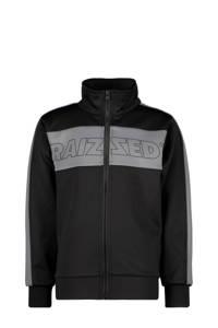 Raizzed vest Salvador met logo zwart/grijs, Zwart/grijs