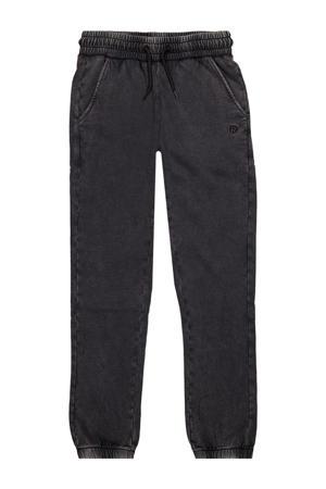 tapered fit broek Montevideo verwassen zwart
