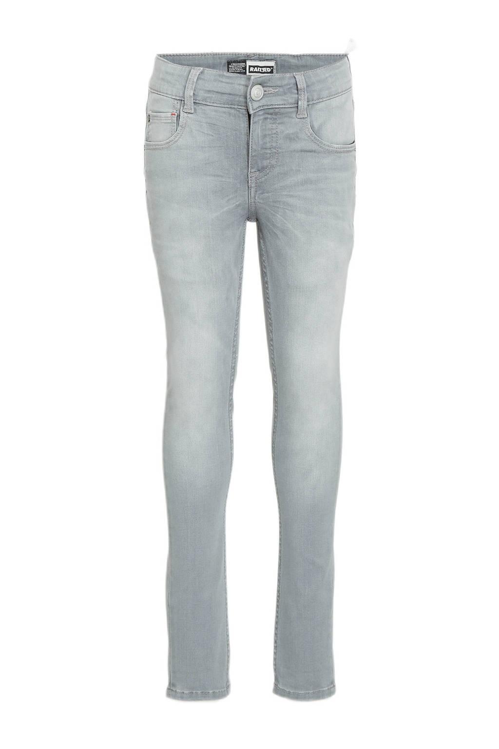 Raizzed skinny jeans Tokyo light grey stoned, Light grey stoned