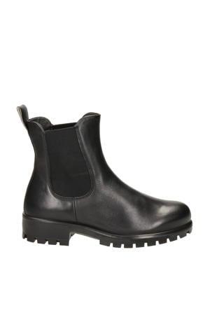 Modtray  leren chelsea boots zwart