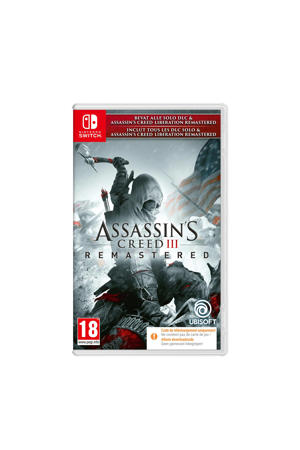 Assassin's Creed III Remastered + Liberation (Code in a box) (Nintendo Switch)