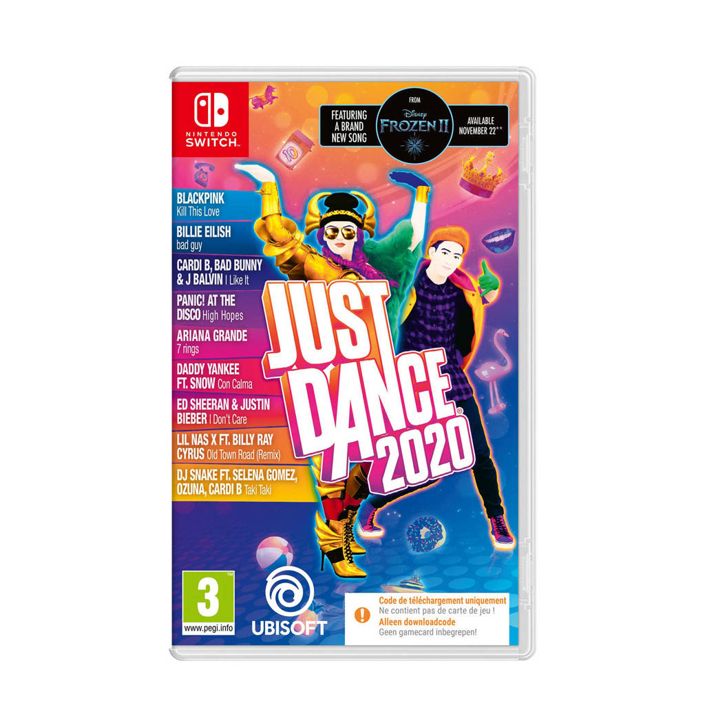 Just Dance 2020 (Code in a box)  (Nintendo Switch)
