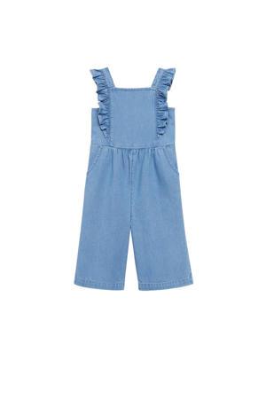 regular fit tuinbroek blauw