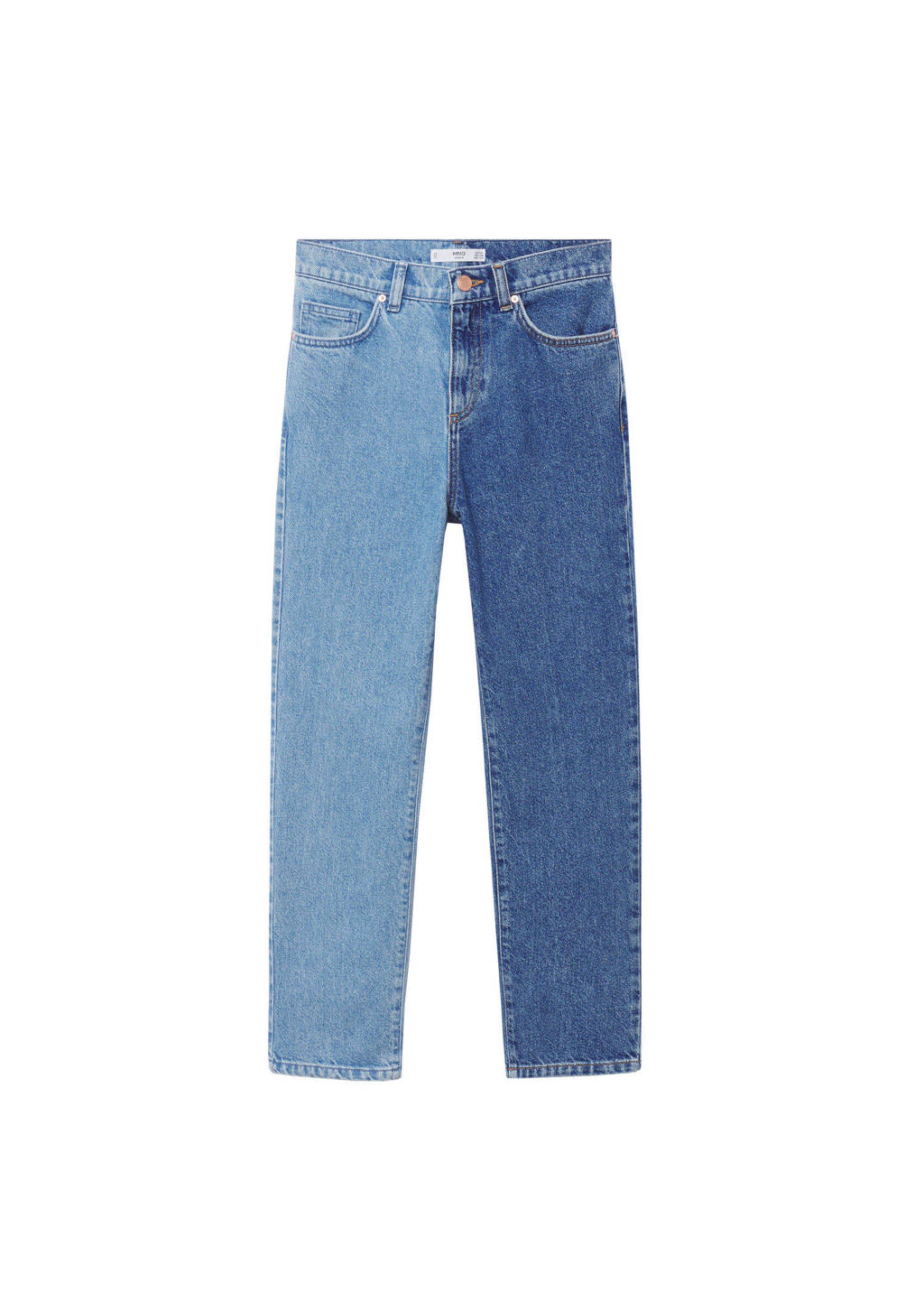 Mango Kids regular fit jeans blauw, Blauw