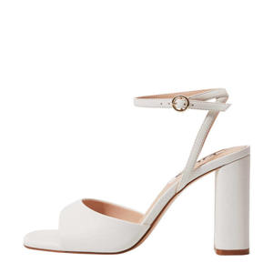 sandalettes gebroken wit