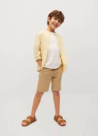 Mango Kids overhemd geel, Geel