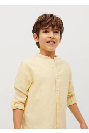 overhemd geel