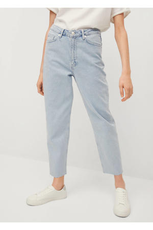 high waist mom jeans blauw