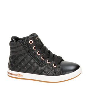 Quilted Squad  sneakers zwart