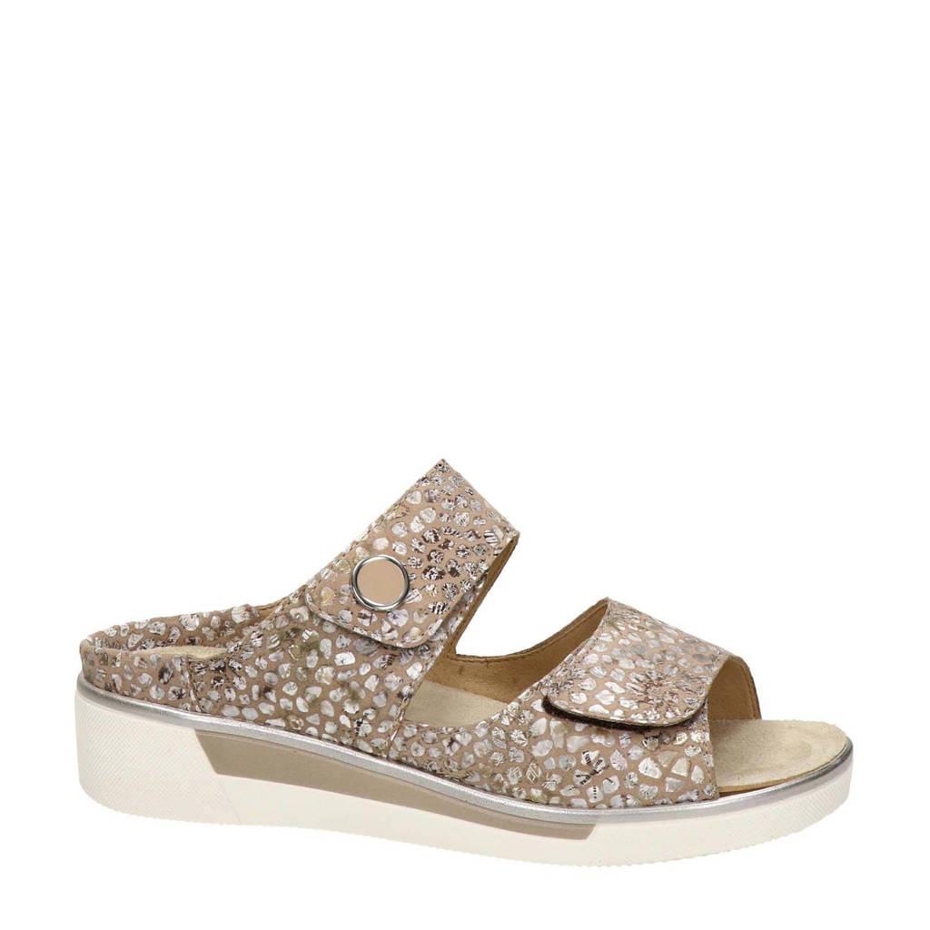Ara  comfort suède slippers beige, Beige