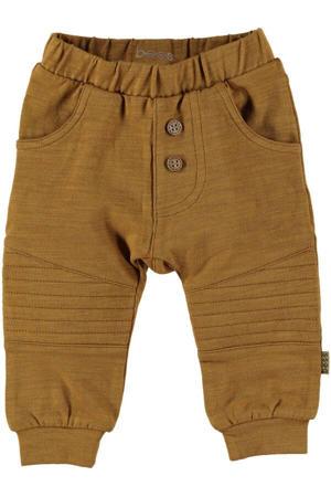 B.E.S.S baby regular fit broek bruin