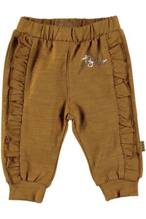 B.E.S.S baby regular fit broek camel