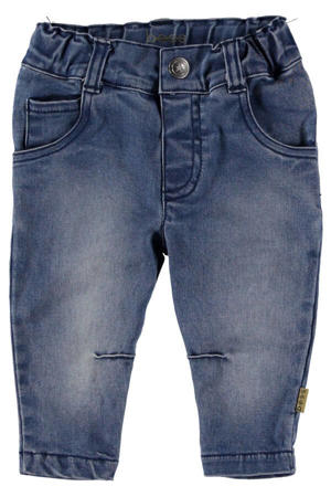 B.E.S.S baby regular fit jeans stonewashed