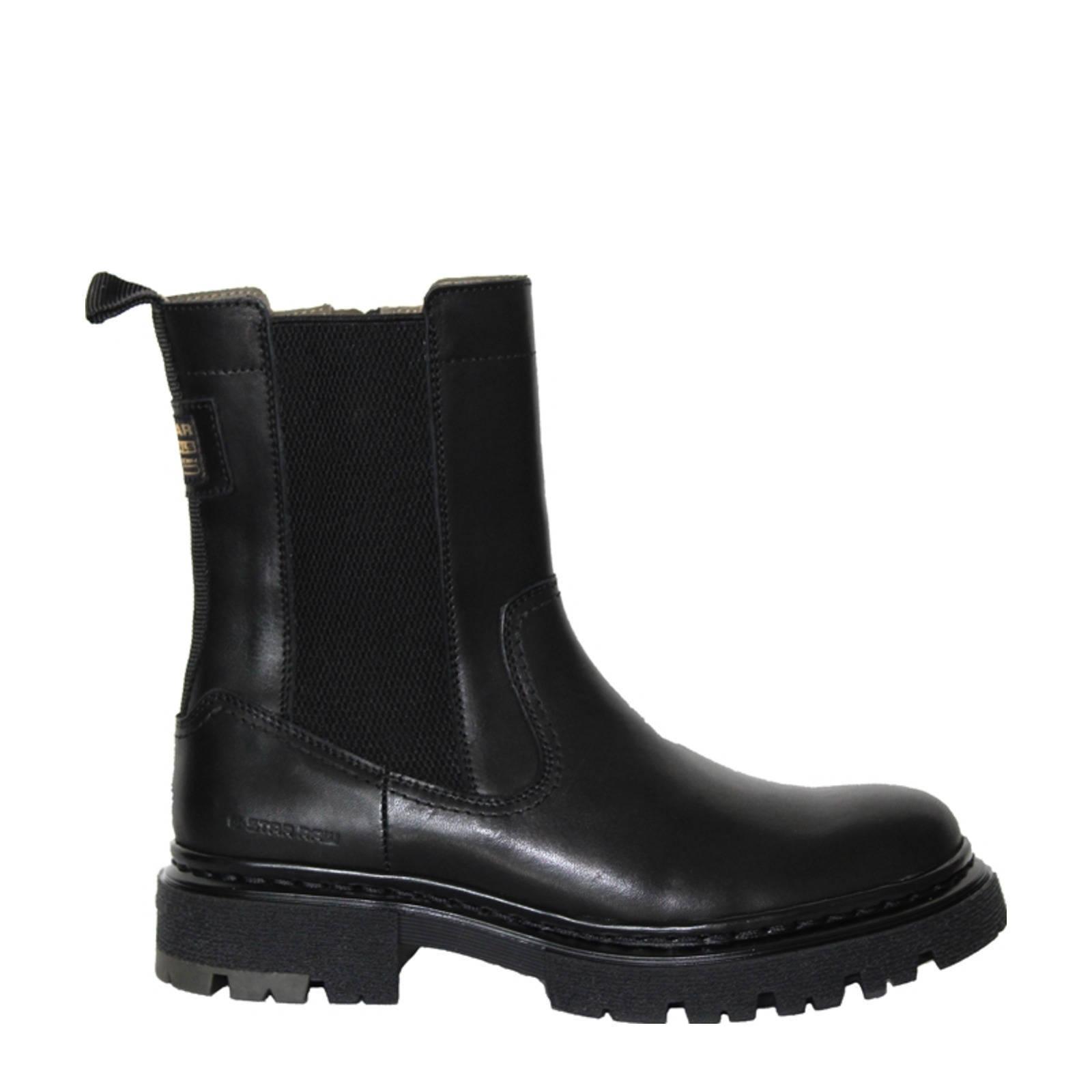 G-Star Boot Kafey HGH CHS LEA W 2141 021804 Zwart-36 maat 36 online kopen