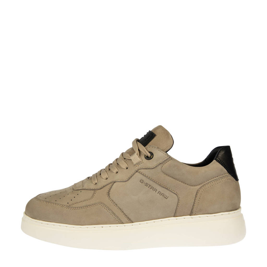 G-Star RAW LASH NUB M  nubuck sneakers beige, Beige