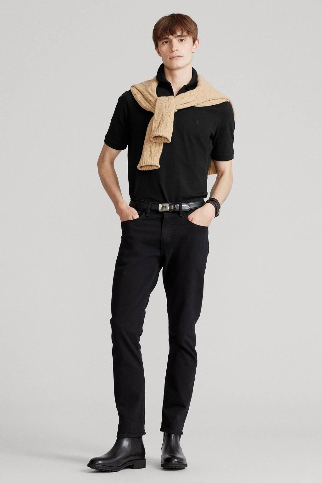 POLO Ralph Lauren regular fit polo zwart, Zwart