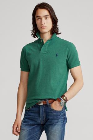 slim fit polo verano green