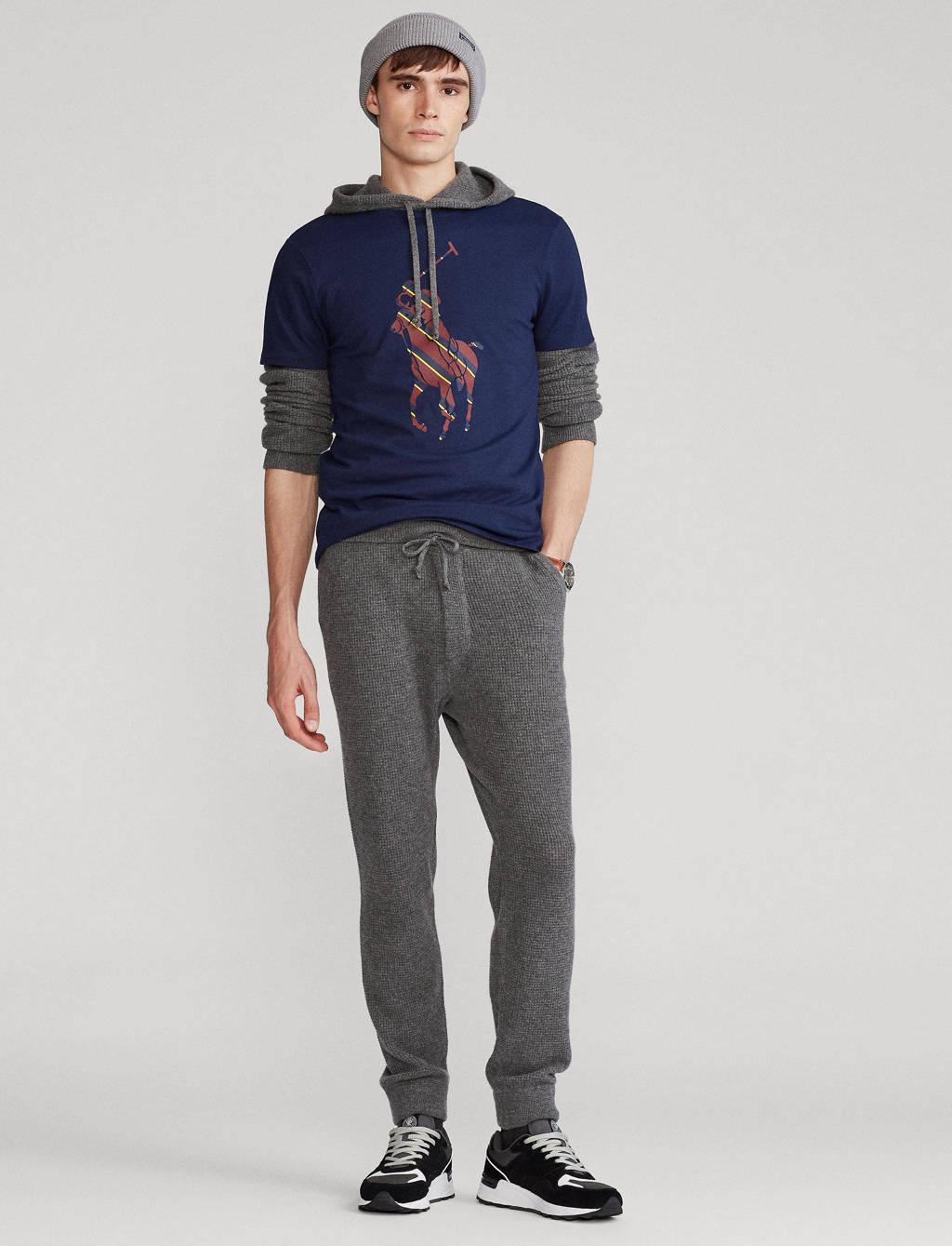 POLO Ralph Lauren T-shirt met printopdruk blauw, Blauw