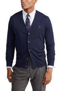 POLO Ralph Lauren wollen vest donkerblauw, Donkerblauw