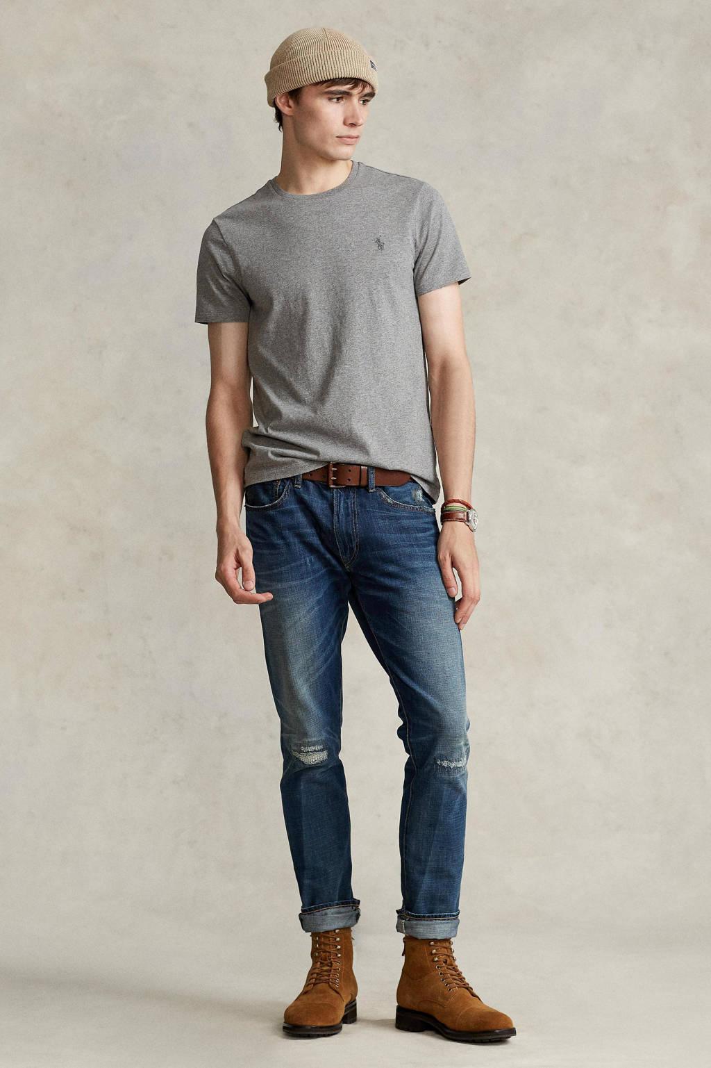 POLO Ralph Lauren T-shirt grijs melange, Grijs melange