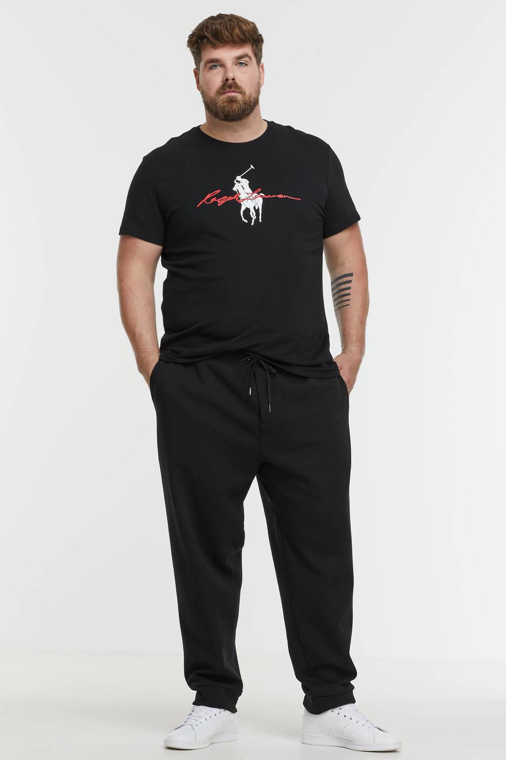 POLO Ralph Lauren Big & Tall +size regular fit joggingbroek Plus Size zwart, Zwart