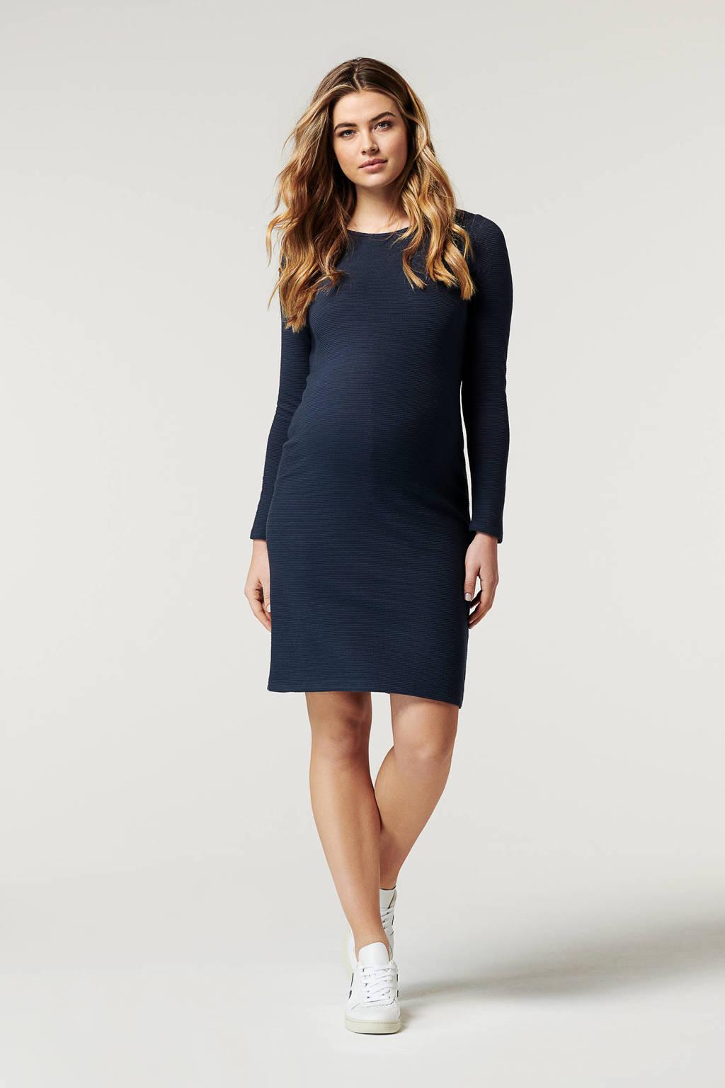 Noppies zwangerschapsjurk Gandy donkerblauw, Donkerblauw