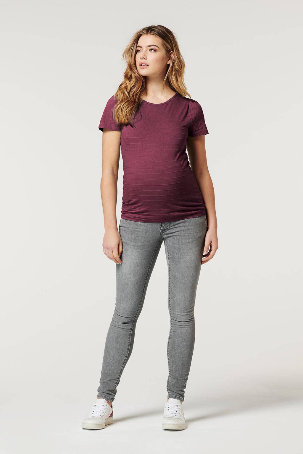 Noppies low waist skinny zwangerschapsjeans Avi grijs, 32
