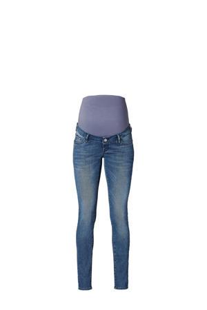 low waist skinny jeans Avi blauw