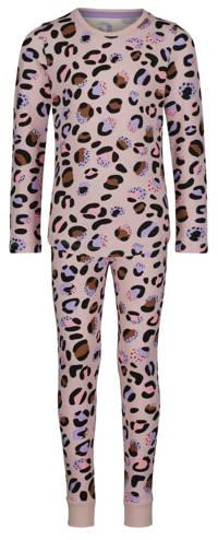 HEMA pyjama met all over print roze, Roze