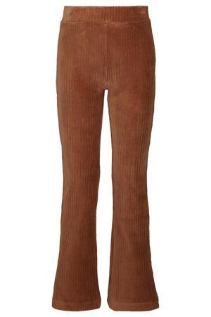 corduroy flared broek Wani bruin