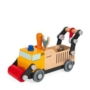 Brico'Kids vrachtwagen wegwerker