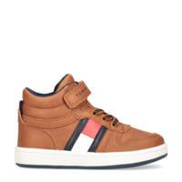 Tommy Hilfiger   hoge sneakers bruin, Bruin