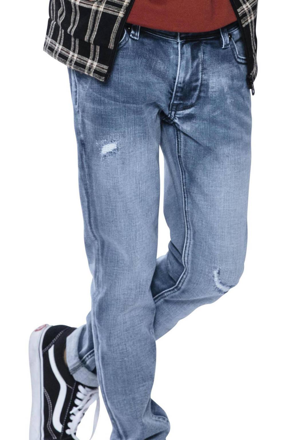 Indian Blue Jeans skinny jeans Ryan blue grey denim, Blue grey denim