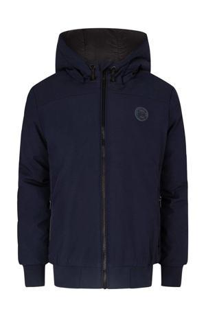 softshell jas tussen donkerblauw
