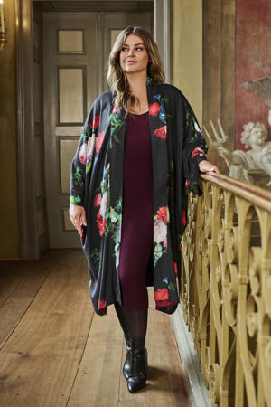 limited edition reversible kimono in bloemenprint