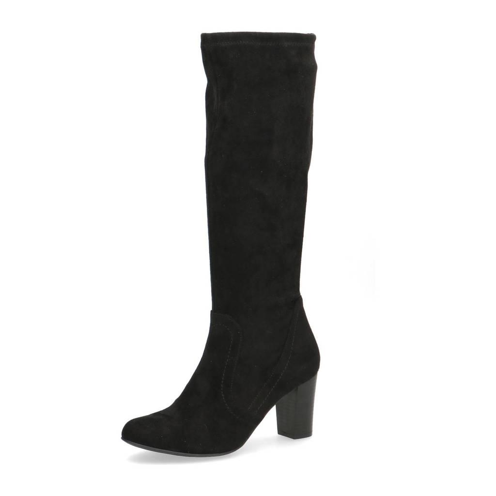 Caprice Britt  laarzen zwart, Zwart