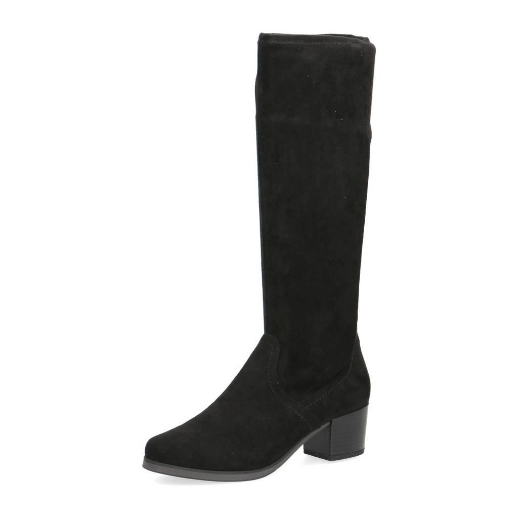 Caprice Bella  laarzen zwart, Zwart