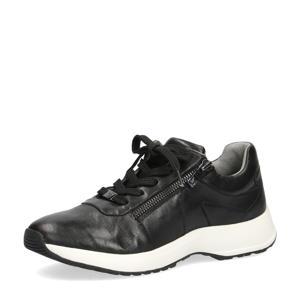 Namika  leren sneakers zwart