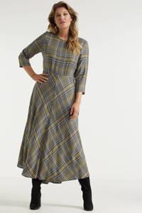 Miljuschka by Wehkamp A-lijn jurk met ruitdessin, Multi