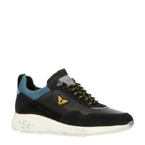 Notcher  leren sneakers blauw