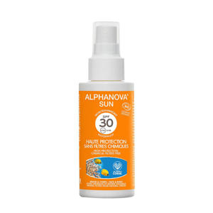 bio spf 30 zonnebrand spray mini - 50 gram