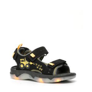 sandalen met lichtjes zwart