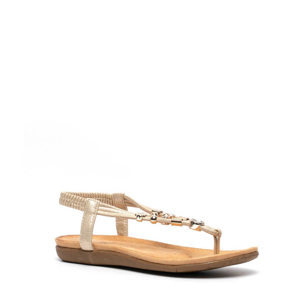 Scapino Blue Box   sandalen goud, Goud